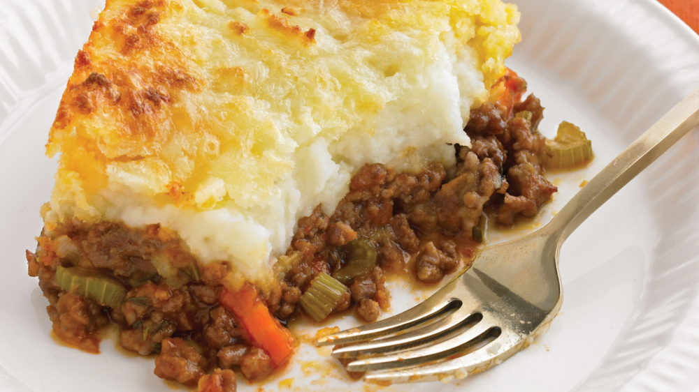 Where did cottage pie originate