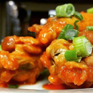 Buttermilk chicken tenders appetizers