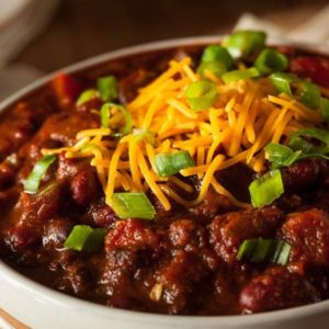 Award winning Chili at Irish Nobleman Pub Chicago