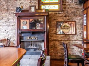 Exposed Brick dining room
