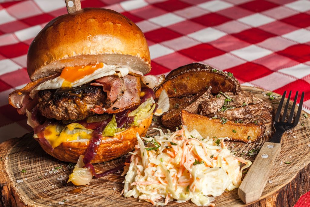 crazy burger toppings